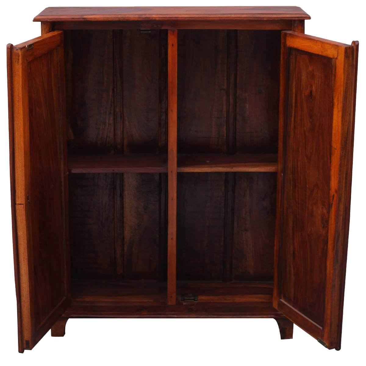 Sayreville Solid Wood Kitchen Storage Cabinet