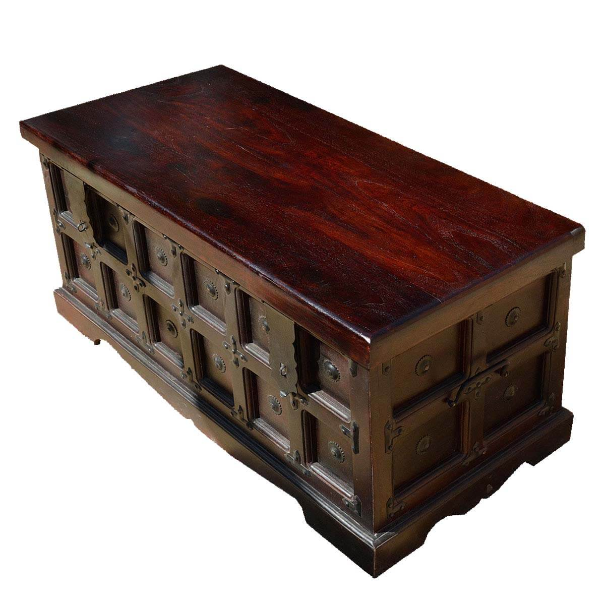 Beaufort kokanee gothic solid wood standing coffee table chest beaufort kokanee gothic indian rosewood standing coffee table chest geotapseo Choice Image