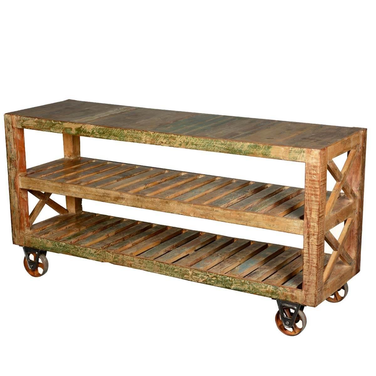 100 4 tier rolling cart industrial vintage industrial metal