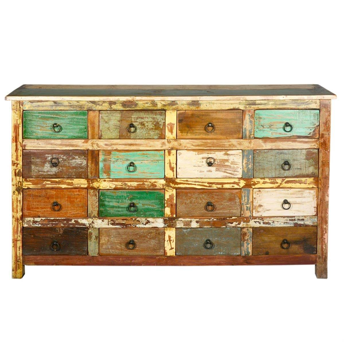 16 drawer dresser