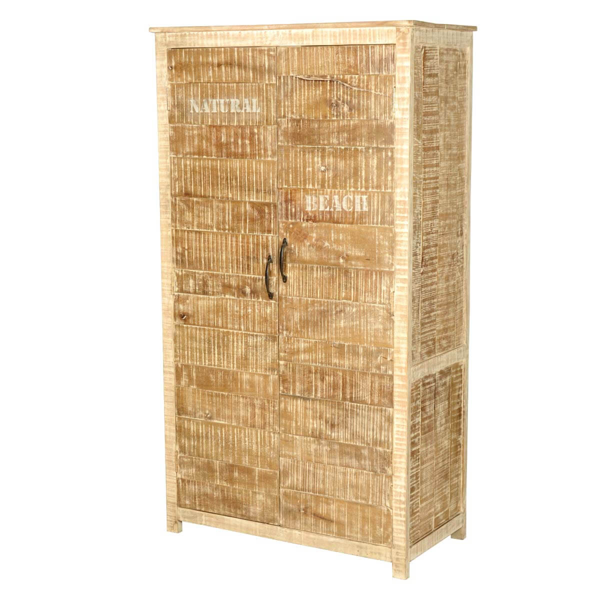 Solid Wood Bedroom Armoire ~ New orleans rustic solid wood bedroom armoire wardrobe