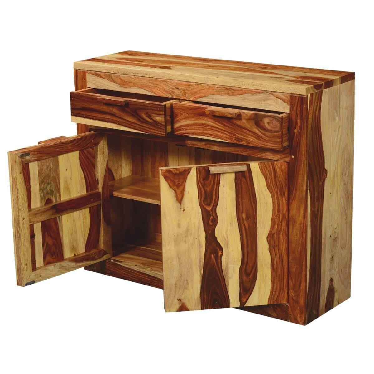 Dallas Ranch Solid Wood & Acacia Kitchen Cabinet Buffet
