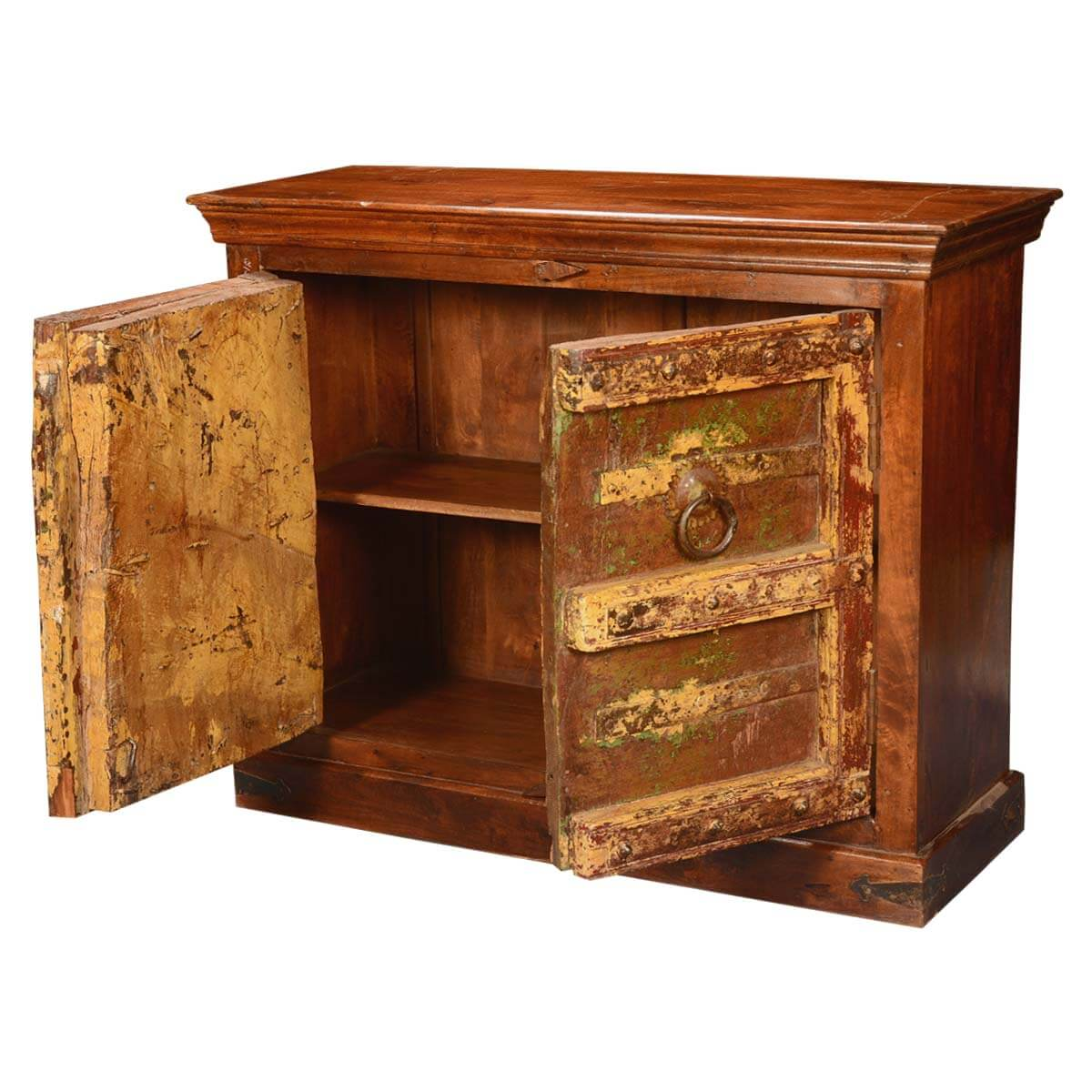 storage console cabinet dousman times reclaimed and mango wood storage 26867