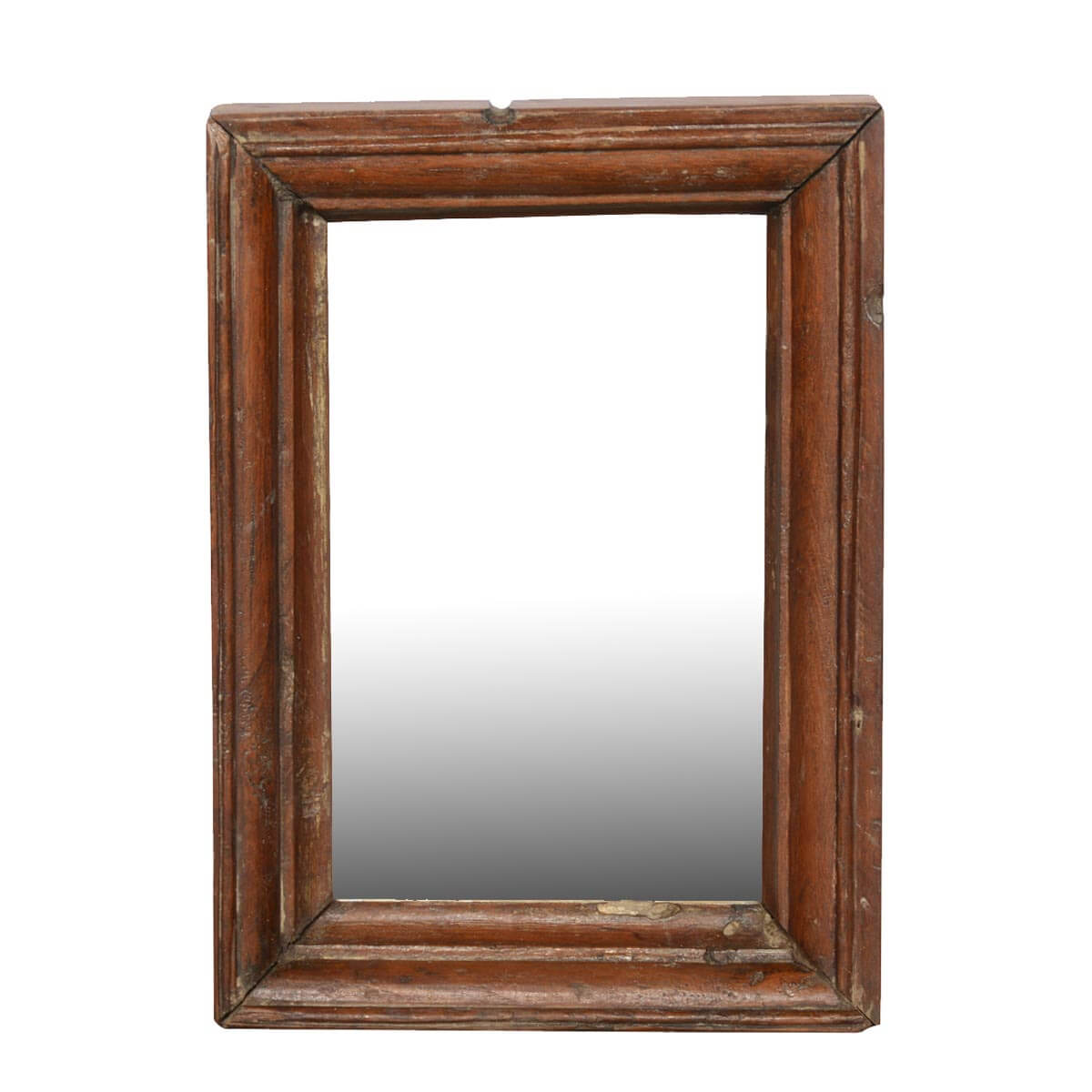 Rustic Farmhouse Reclaimed Wood Handmade Wall Mirror Frame