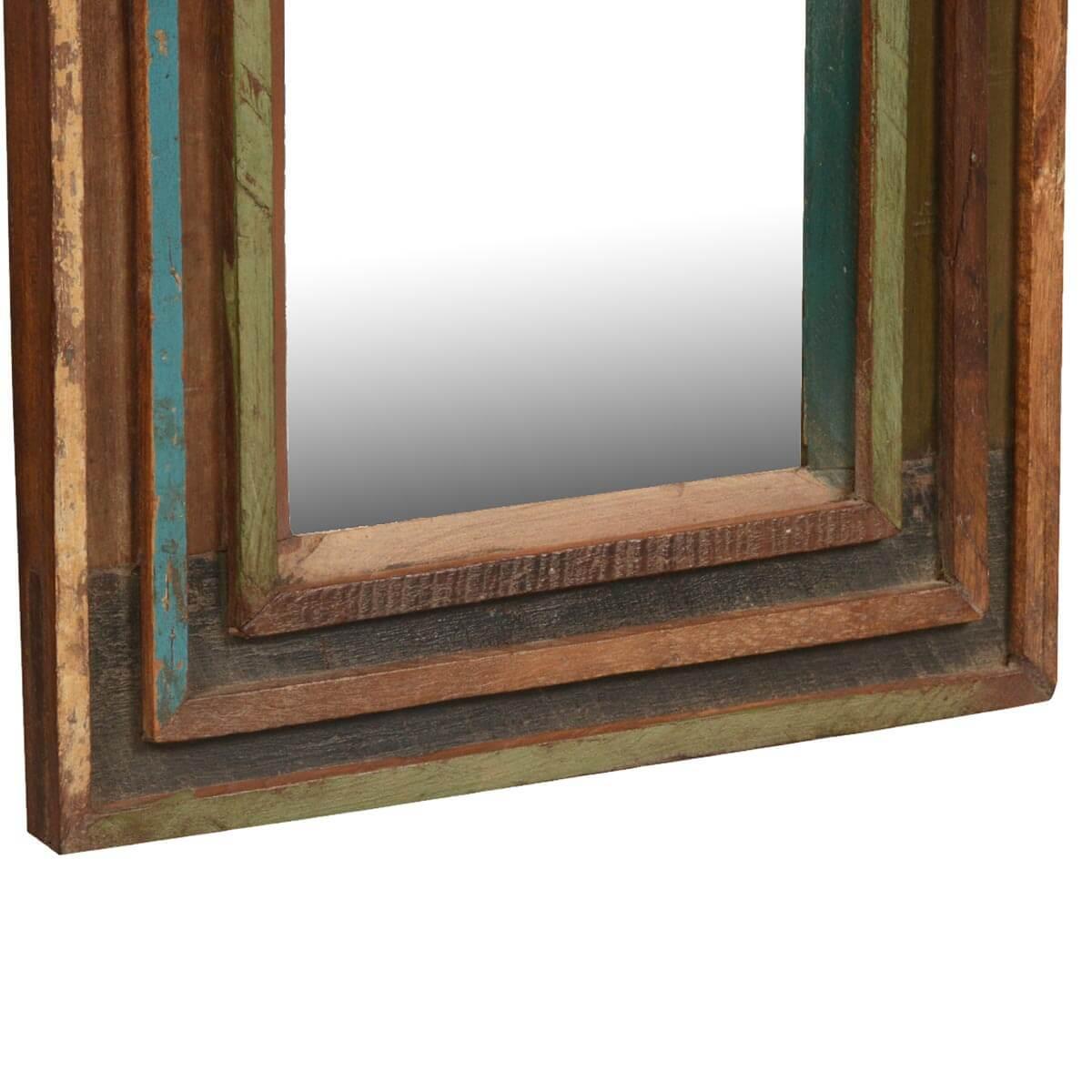 "Appalachian Rustic Reclaimed Wood 12.5"" Square Framed Wall ..."