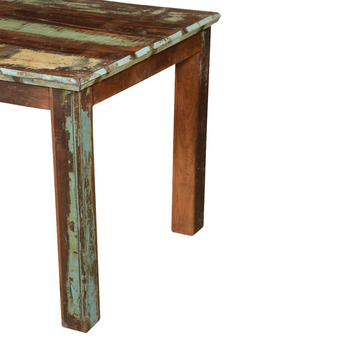 French Quarter Rustic Reclaimed Wood Striped Dining Table : 64134 from www.sierralivingconcepts.com size 1200 x 1200 jpeg 118kB