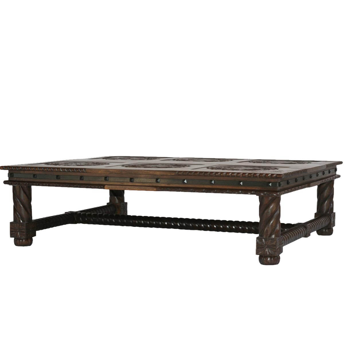 Game of thrones solid wood coffee table for Solid wood coffee table