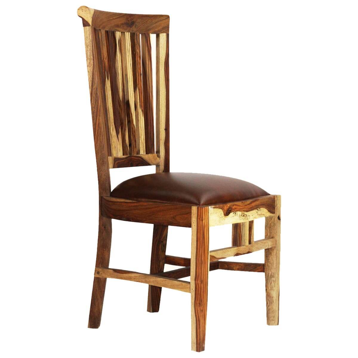 Unfinished Dining Room Chairs: Dallas Ranch Comb Back Solid Wood Upholstered Dining Chair