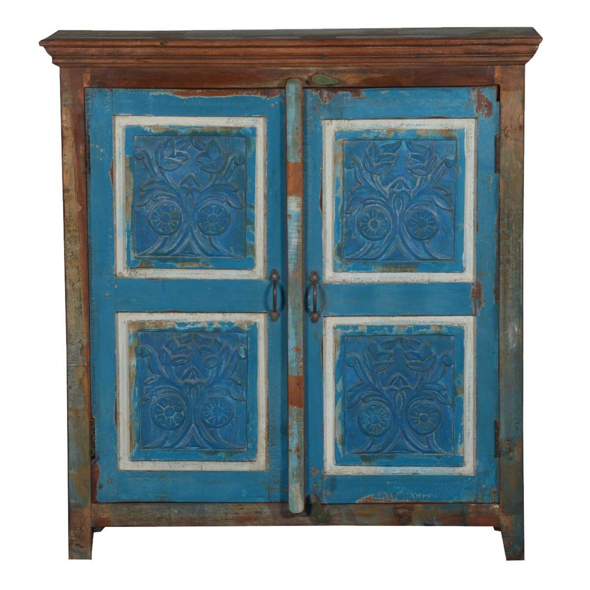 hall console cabinet. Farnham Hand Carved Rustic Reclaimed Wood Hall Console Cabinet E