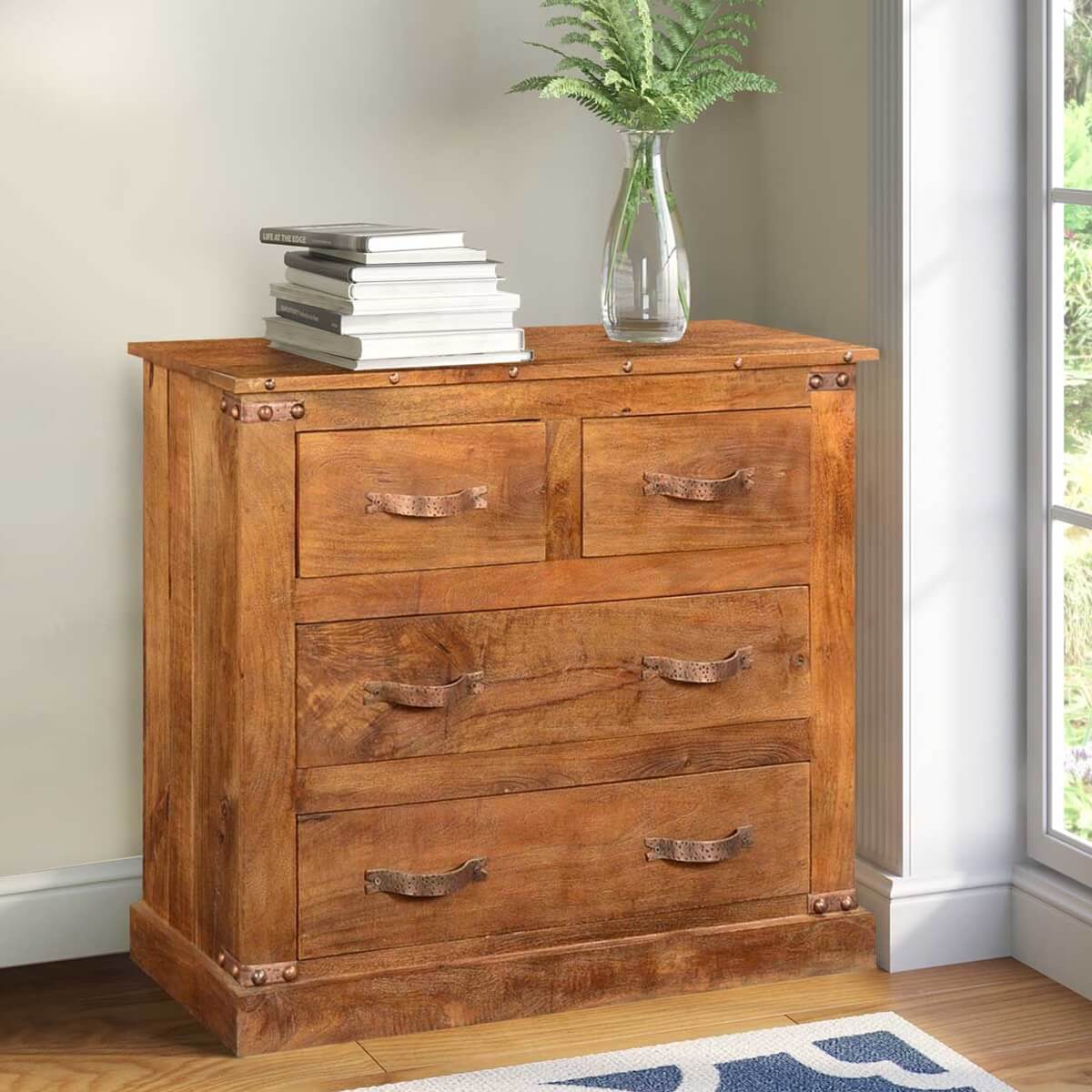 Mango Bedroom Furniture Country Farmhouse Mango Wood Marble Bathroom Vanity Cabinet