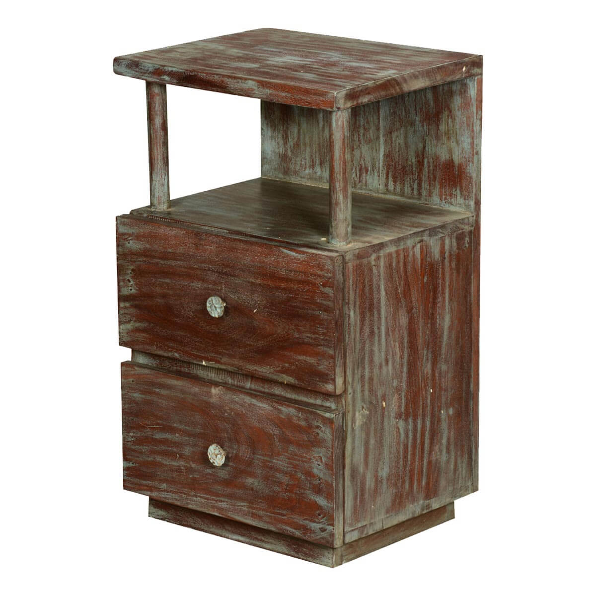 Reclaimed Wood Nightstand Canada Emmerson 174 Reclaimed