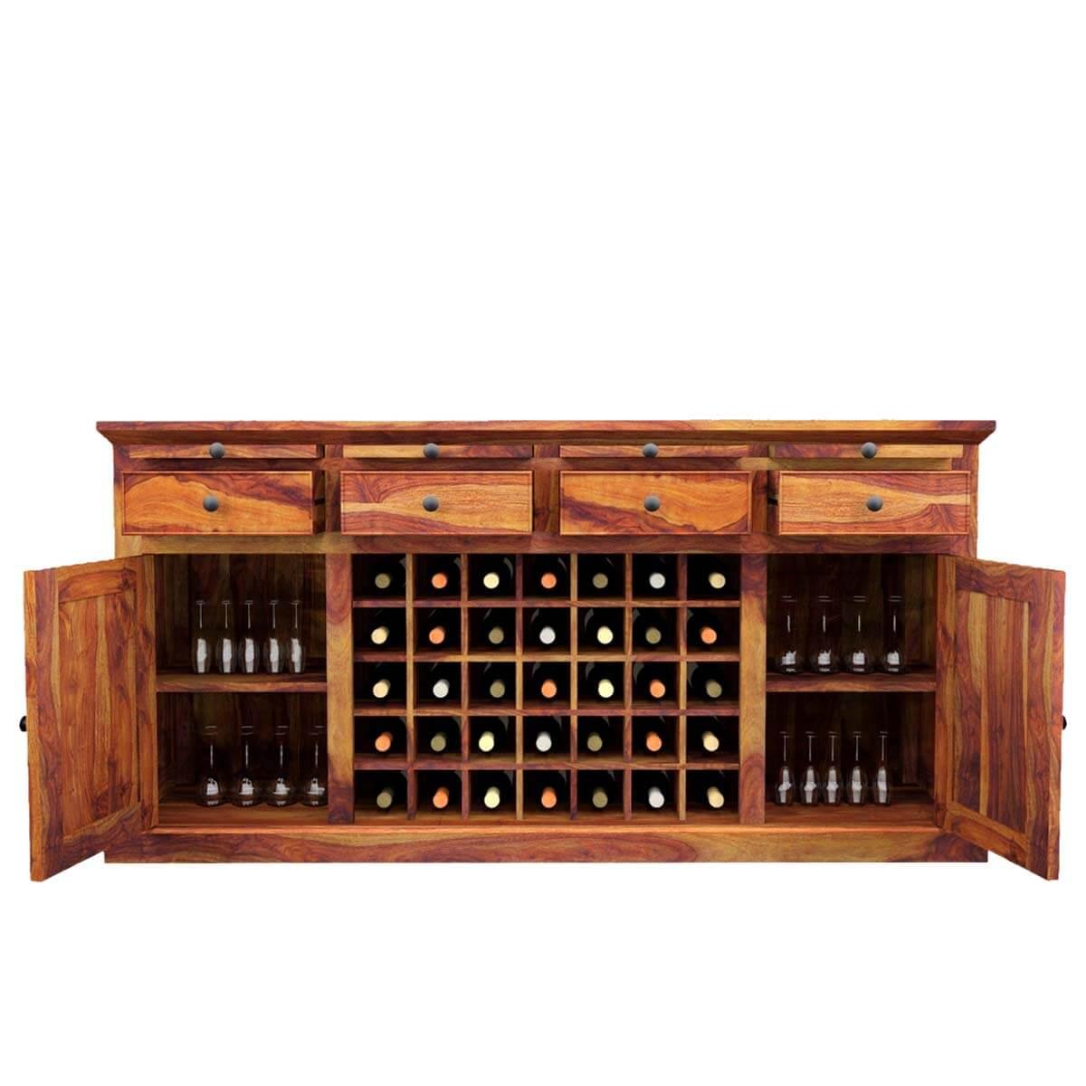 Kitchen Cabinets In Dallas: Oenophile Dallas Ranch Solid Wood Grand Wine Bar Cabinet