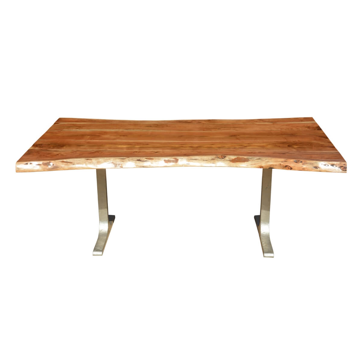 Solid Wood amp Iron Base Santa Fe Live Edge Dining Table : 69981 from www.sierralivingconcepts.com size 1200 x 1200 jpeg 173kB