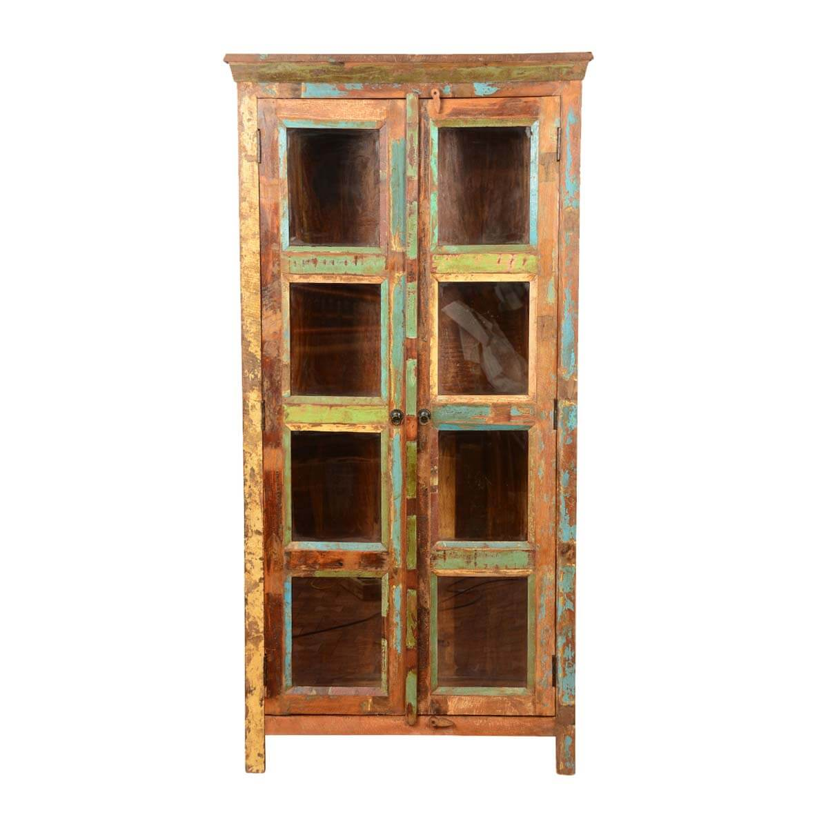 glass with sliding wood cabinet black single cabinets beech displa decoration hutch door doors wall store corner showcase case display curio