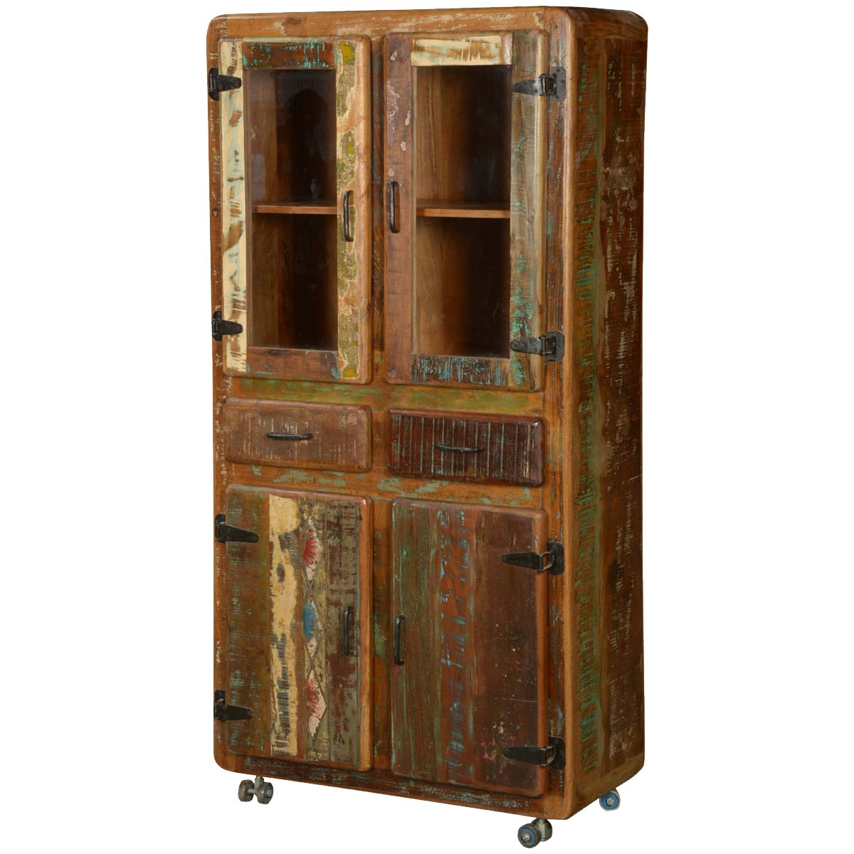 wonderful wood cabinet on wheels