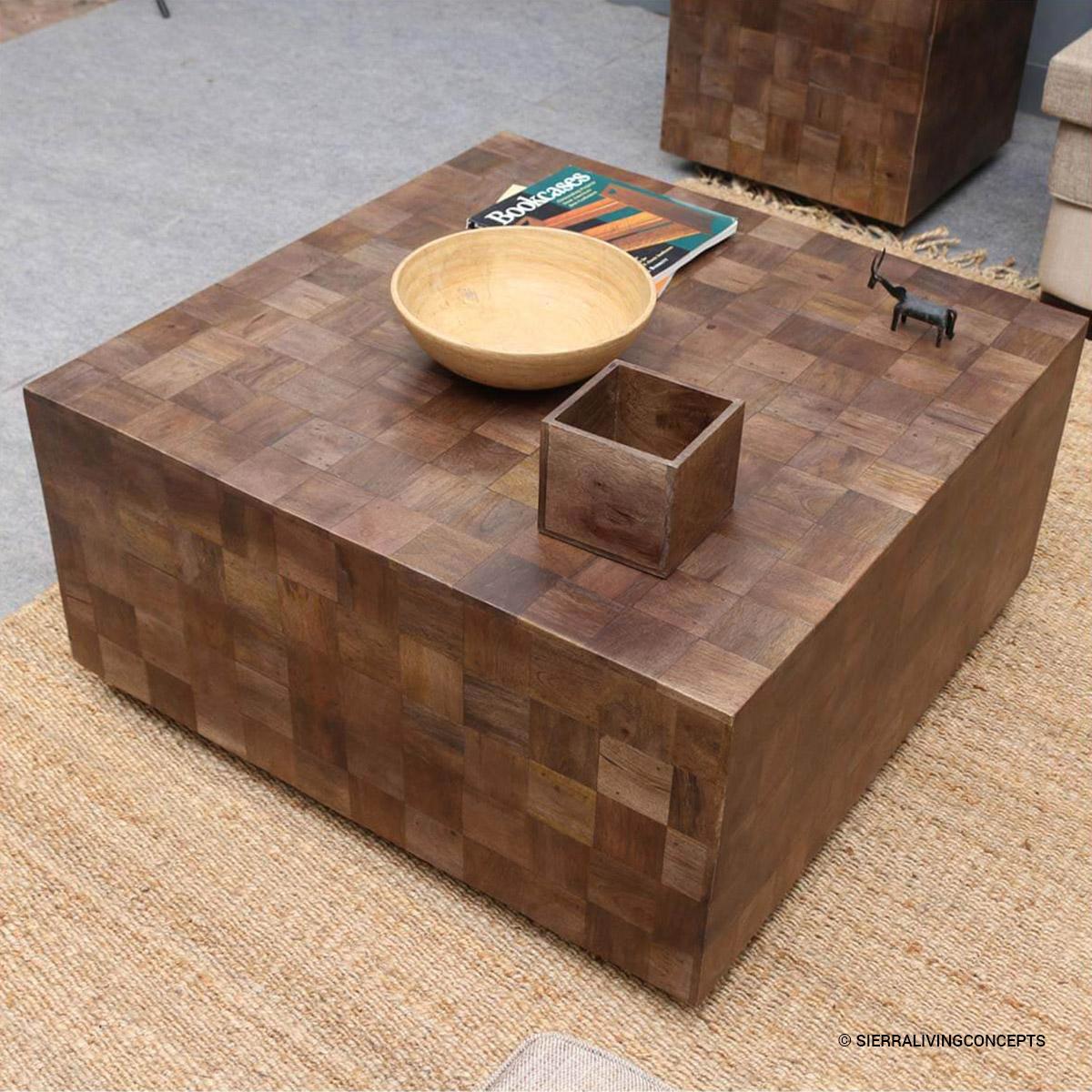 Modern Rustic Furniture Solid Wood 36