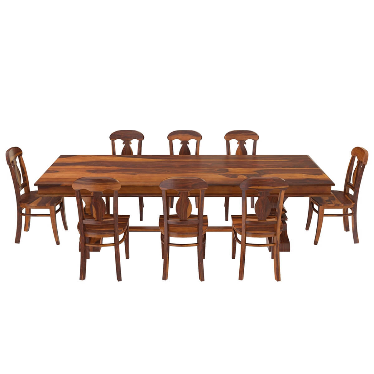 Nottingham Solid Wood 92 Trestle Dining Table Benches amp 2  : 73942 from www.sierralivingconcepts.com size 1200 x 1200 jpeg 94kB
