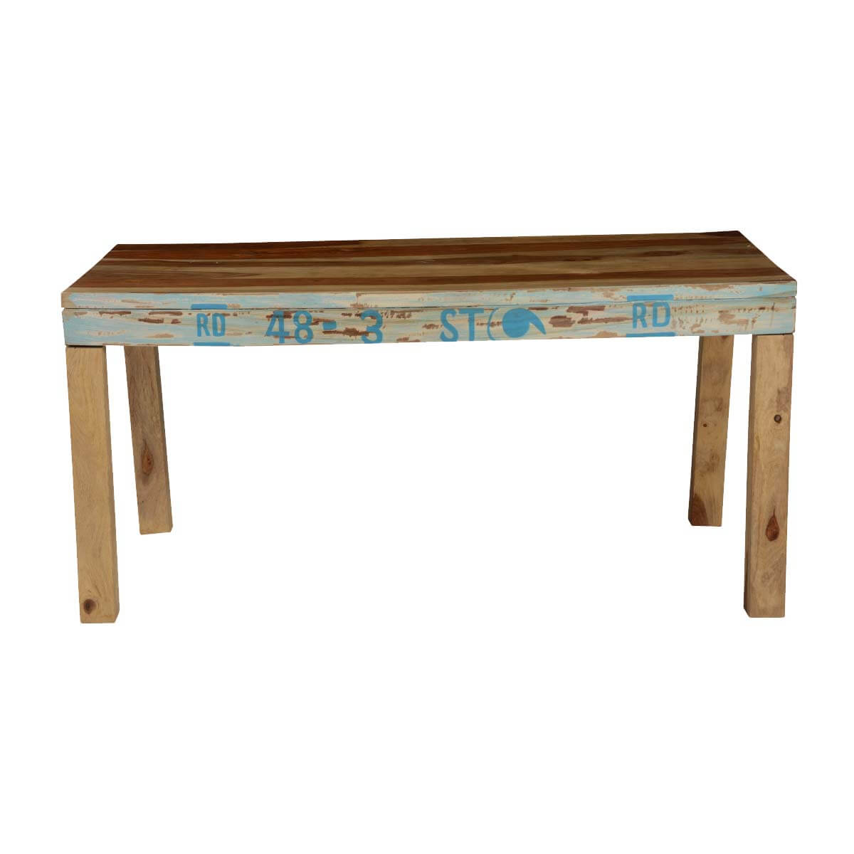 Natural Rustic Solid Wood Rectangular Dining Table : 74351 from www.sierralivingconcepts.com size 1200 x 1200 jpeg 70kB