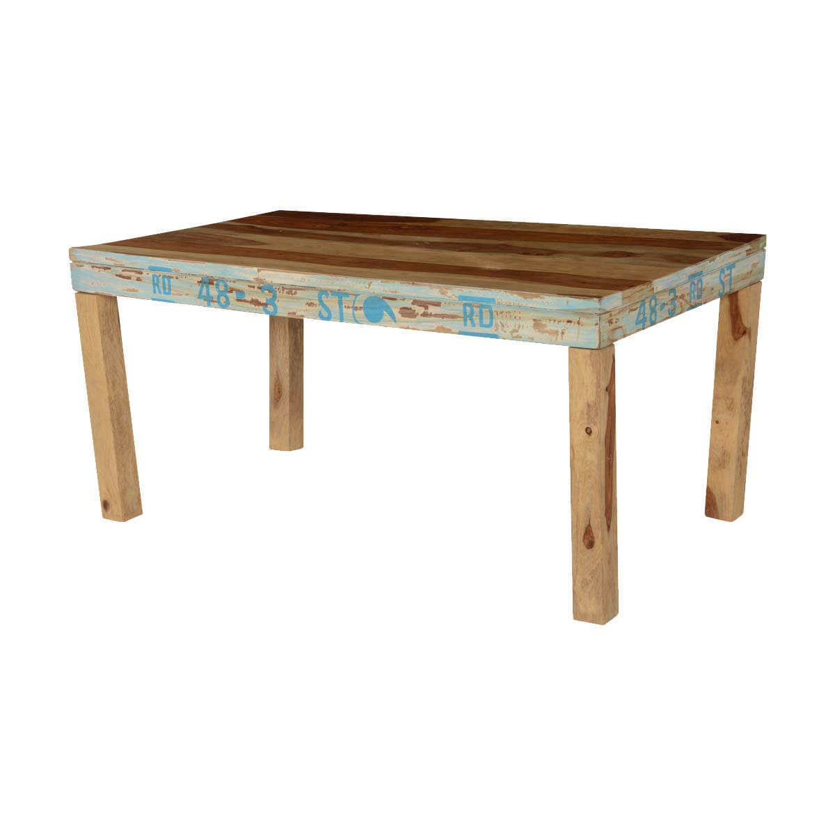 Natural Rustic Solid Wood Rectangular Dining Table : 74353 from www.sierralivingconcepts.com size 1200 x 1200 jpeg 70kB