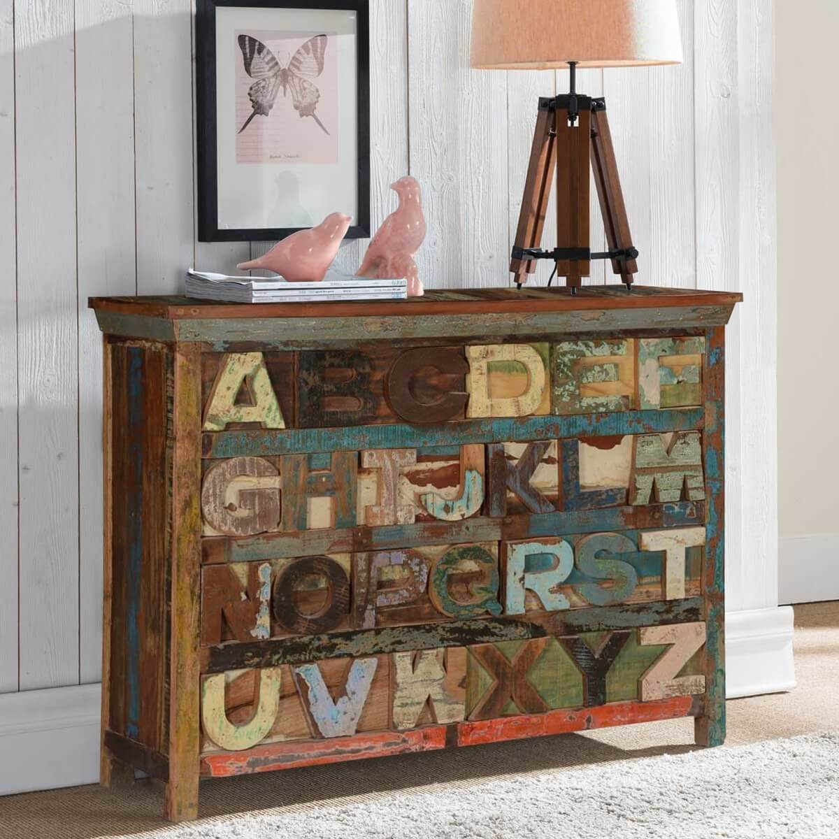 units wall with stanton furniture dresser wood dressers oak open top small rustic detail