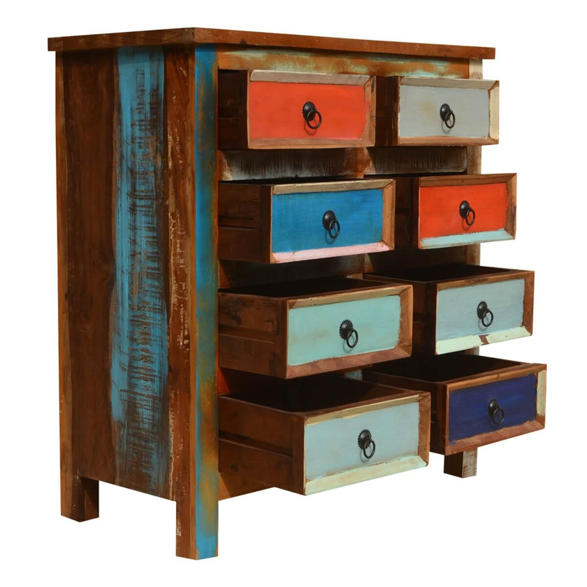 reclaimed wood furniture chest of drawers
