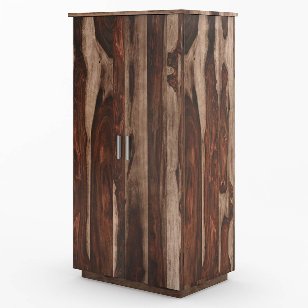hampshire solid wood modern armoire wardrobe. Black Bedroom Furniture Sets. Home Design Ideas