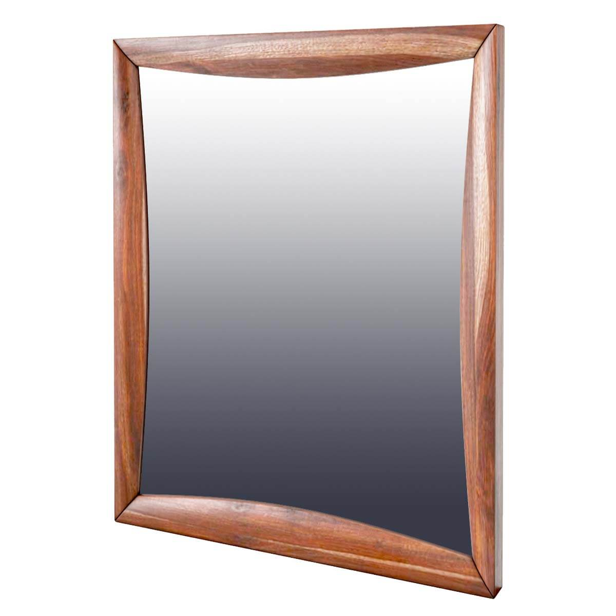 modern pioneer solid wood dresser mirror frame