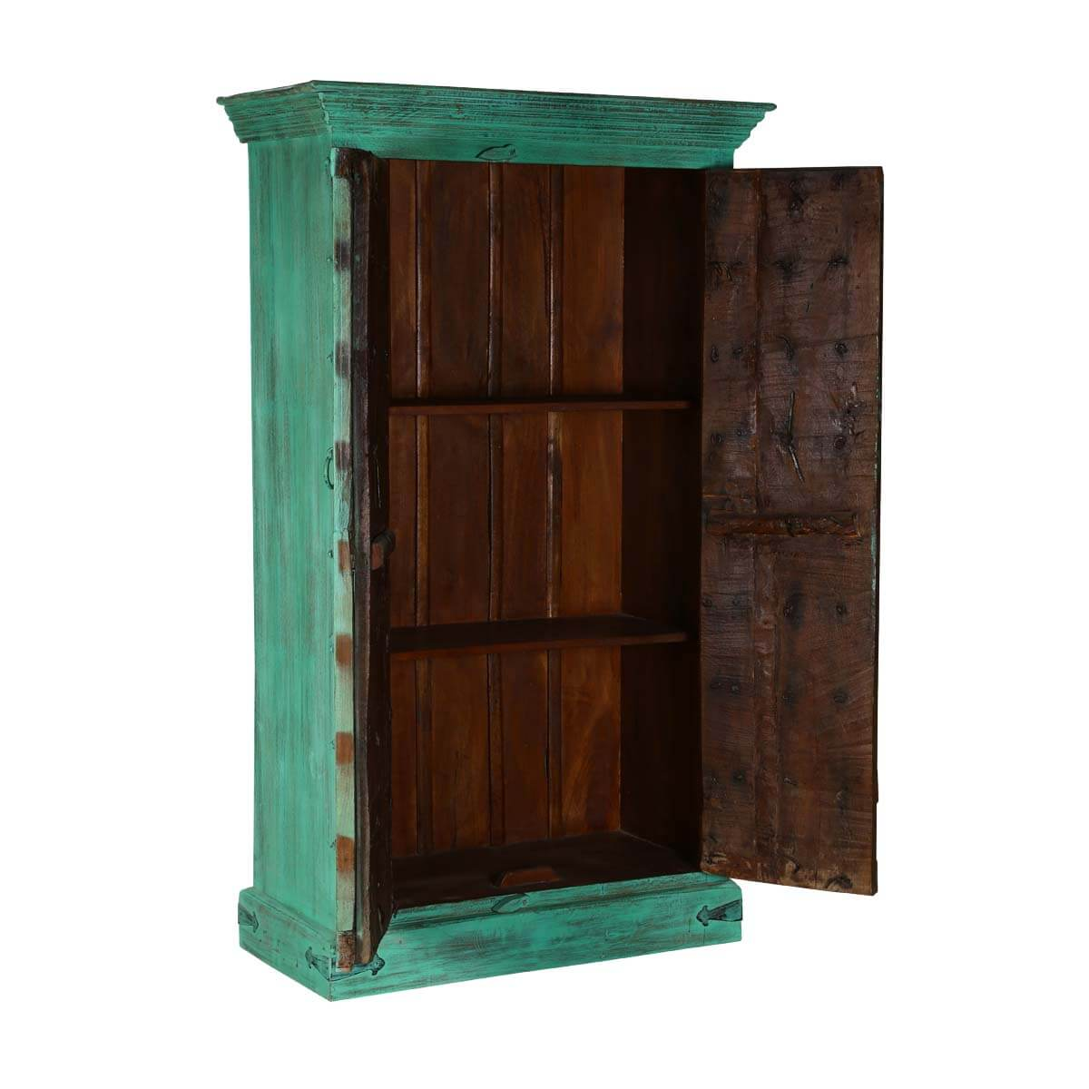 Turquoise Trail Rustic Reclaimed Wood Handmade Armoire