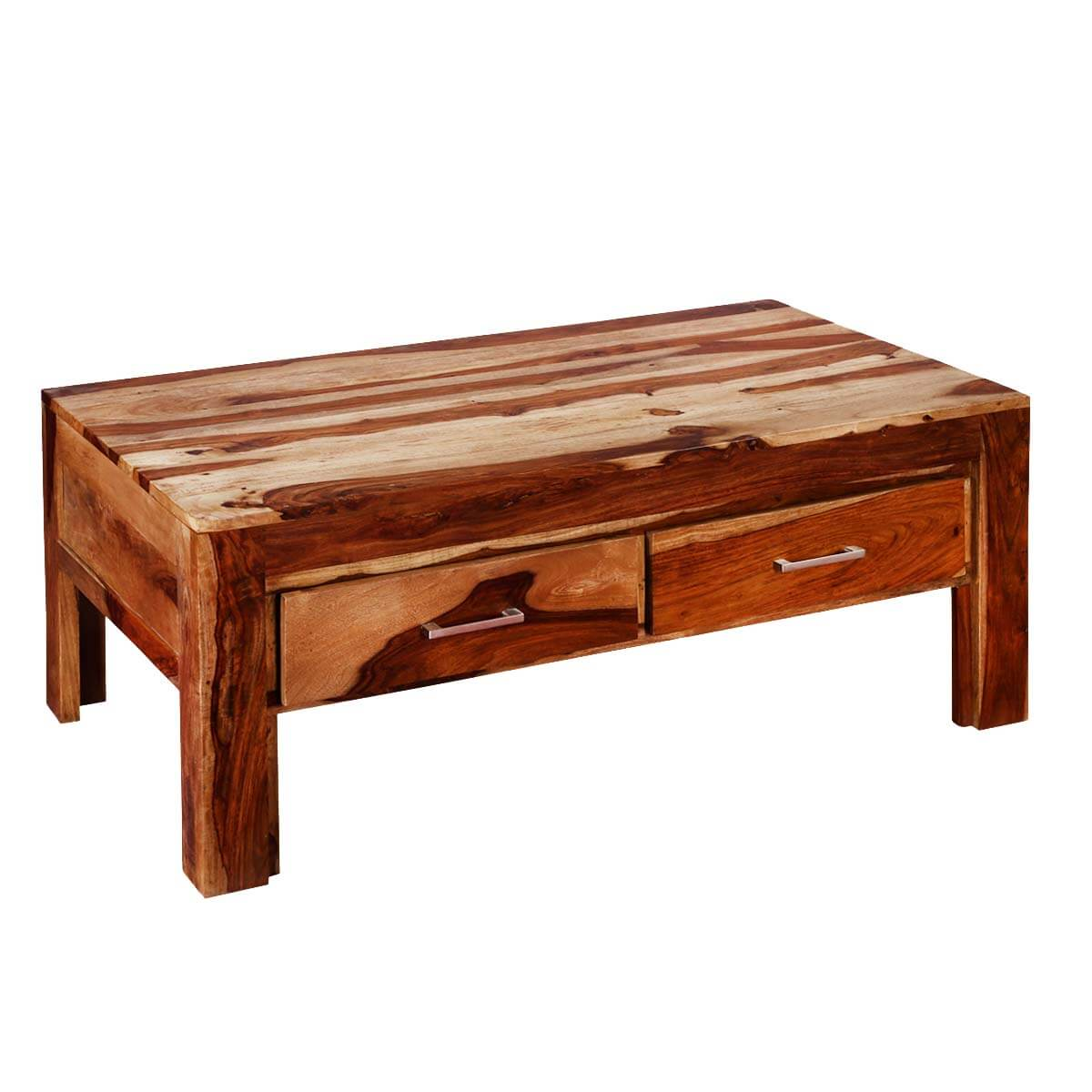 Frontier indian rosewood 45 coffee table w drawers modern frontier indian rosewood 45 coffee table w drawers geotapseo Choice Image