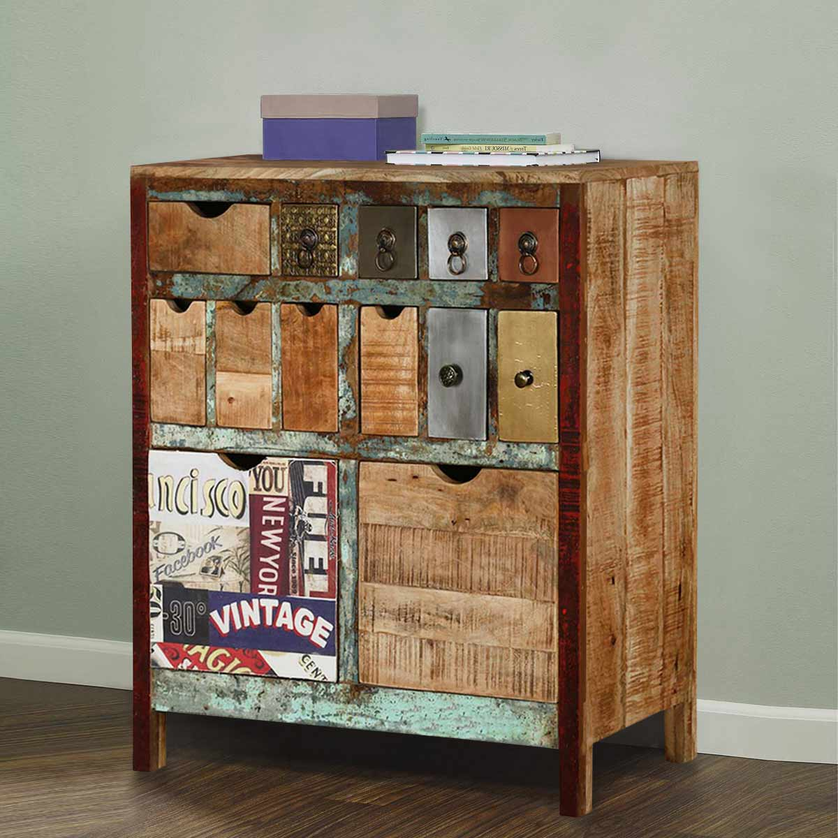 chest drawers reclaimed drawer wood description rustic image of