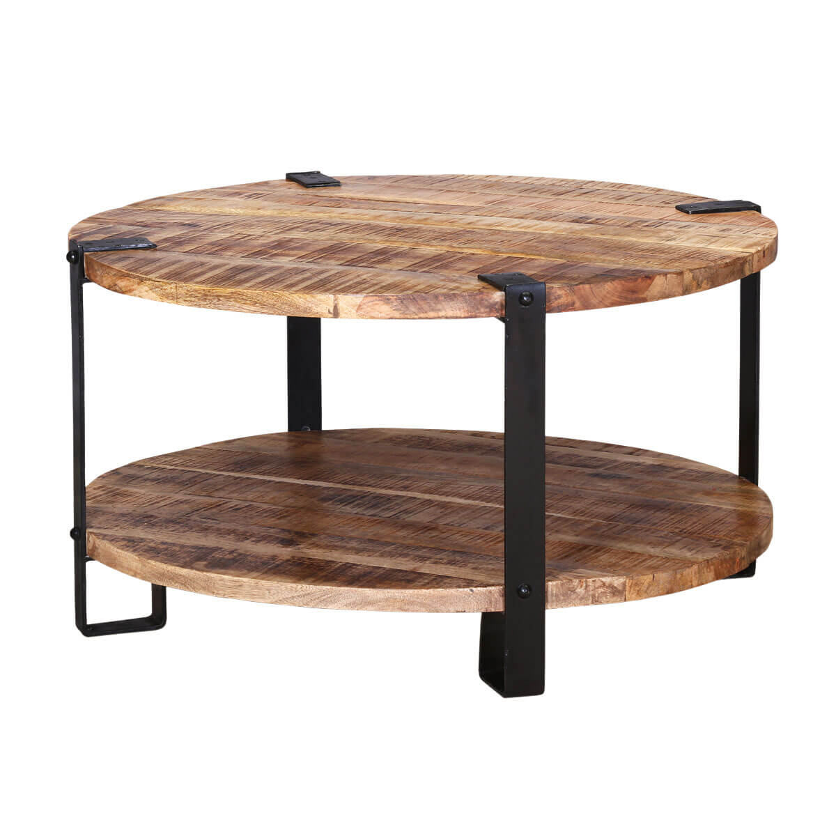 "35"" Rustic Industrial Round Barn Coffee Table. Plain Black Desk. Hon Desk Assembly Instructions. Cbp Help Desk Phone Number. 2 Drawer Locking File Cabinet. Fashion Desk Accessories. Shaker Lap Desk. Travel Lap Desk. Clear Office Desk"