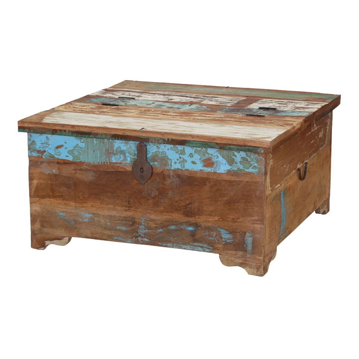 Handcrafted reclaimed wood coffee table trunks appalachia handcrafted reclaimed wood coffee table trunks geotapseo Choice Image