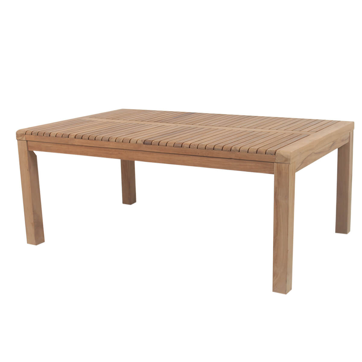 Vienna Stylish Handcrafted Sand Finished Teak Wood Coffee Table