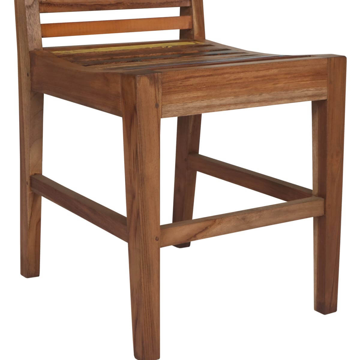 Melbourne Reclaimed Wood Square Dining Table And Chair Set