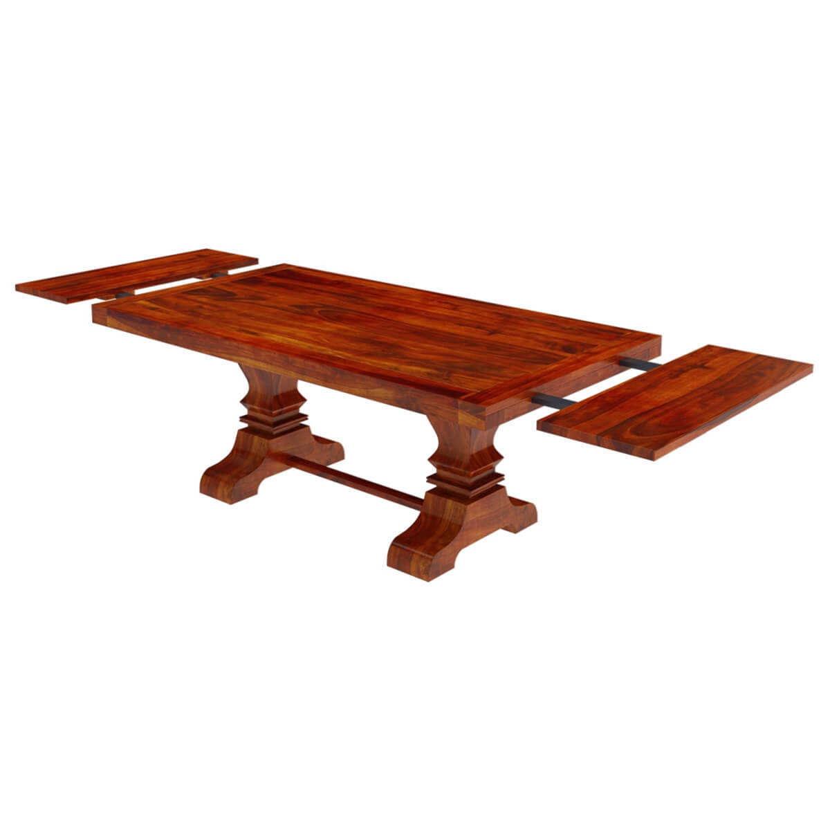 Solid Dining Table And Chairs: Chantilly Chic Solid Wood Extendable Dining Table And