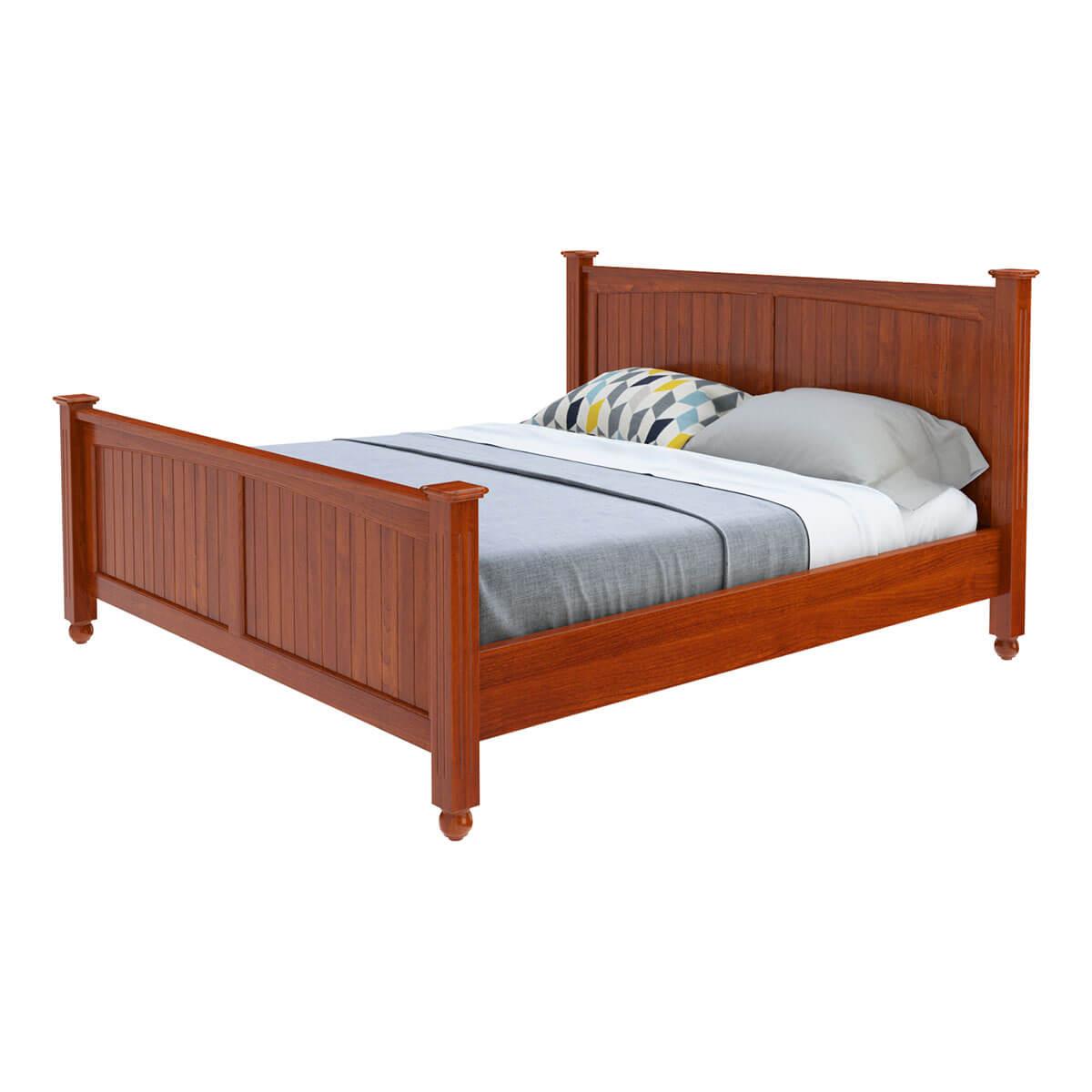 Delanson Solid Mahogany Wood 6 Piece Full Size Bedroom Set