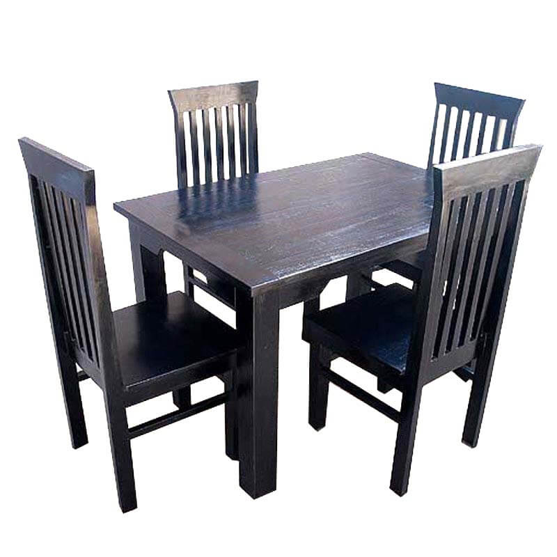 Contemporary Lincoln Kitchen Dining Room Table & Chairs Set