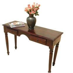 Solid Wood Handmade Sturdy table writing Office desk.