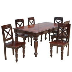 Texas Rustic Dining Table and Chairs Set