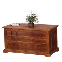 Seafarer Mission Mango Wood Coffee Table Chest