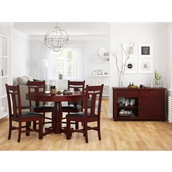 Garcia Solid Wood 6 Piece Dining Room Set